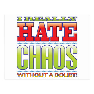 Chaos Hate Post Cards