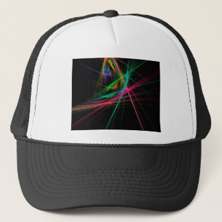 Chaos of rainbow trucker hat