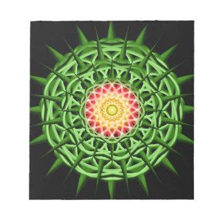 Chaos Orb Mandala Notepad