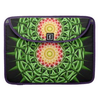 Chaos Orb Mandala Sleeves For MacBooks