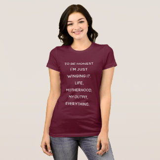chaos shirt for motherhood