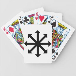 Chaos Star Bicycle Playing Cards