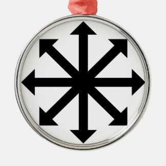 Chaos Star Metal Ornament