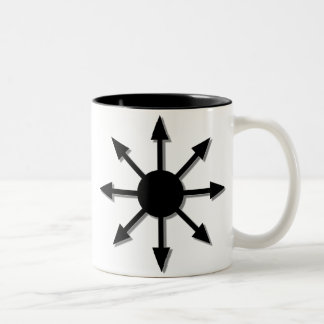 Chaos Star Two-Tone Coffee Mug