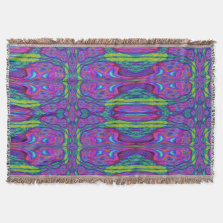 Chaos Storm 11 Throw Blanket