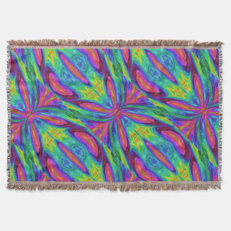 Chaos Storm 14 Throw Blanket