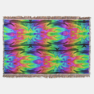 Chaos Storm 1 Throw Blanket