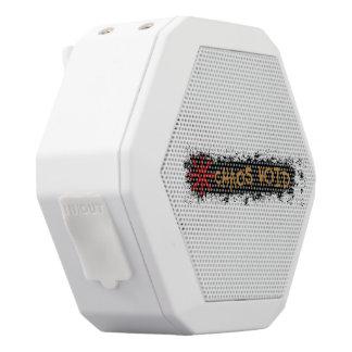 Chaos Void Boombox White Bluetooth Speaker