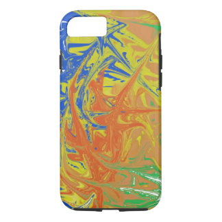 Chaotic and ugly pattern iPhone 7 case