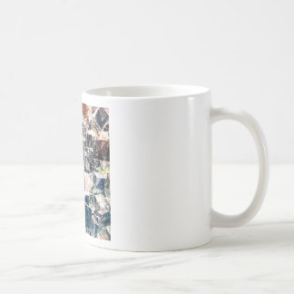Chaotic Collection of Cubes Coffee Mug