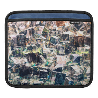 Chaotic Collection of Cubes iPad Sleeve