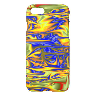 Chaotic ugly pattern iPhone 7 case