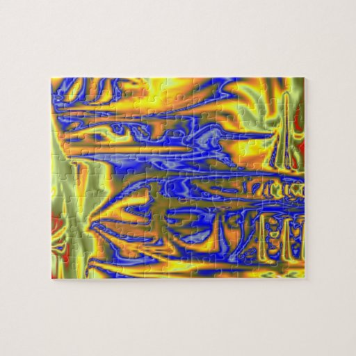 Chaotic ugly pattern jigsaw puzzles