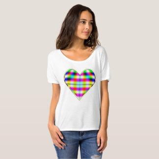 Chaotik3D Psychedelic Heart Bella T Shirt