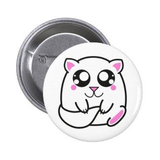 Chapa gatito tierno boton