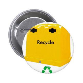 Chapa recycle botones
