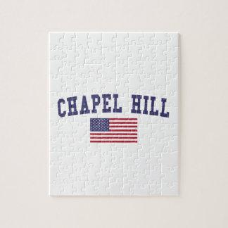 Chapel Hill US Flag Jigsaw Puzzle