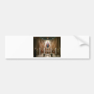 Chapel icons painting fresco bumper stickers