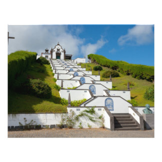 Chapel in Azores islands 21.5 Cm X 28 Cm Flyer