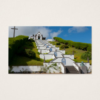 Chapel in Azores islands Business Card