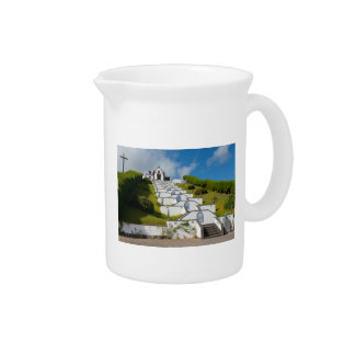 Chapel in Azores islands Pitcher