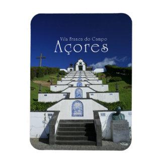Chapel in Azores Rectangular Photo Magnet
