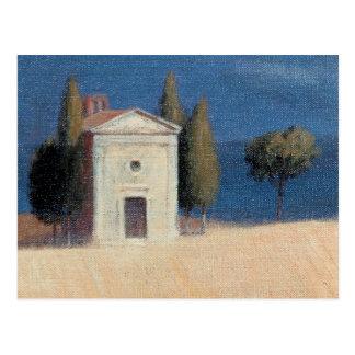Chapel near Pienza II 2012 Postcard