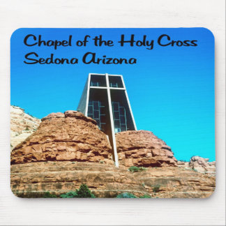 Chapel of the Holy Cross Sedona arizona Mouse Pad