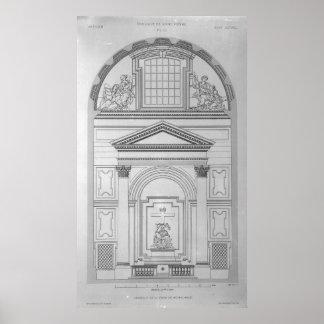 Chapel of the Pieta in St.Peter's Poster