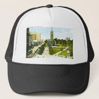 Chapel Street, New Haven, Connecticut Trucker Hat