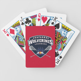 ChapLAX Sticks Shield Bicycle® Poker Playing Cards