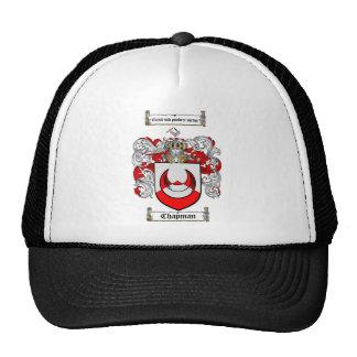 CHAPMAN FAMILY CREST -  CHAPMAN COAT OF ARMS CAP
