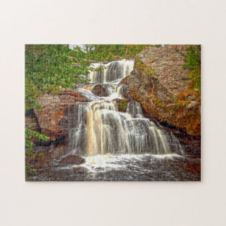 Chapman Water Falls  Connecticut. Jigsaw Puzzle