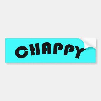 Chappy Bumper Sticker