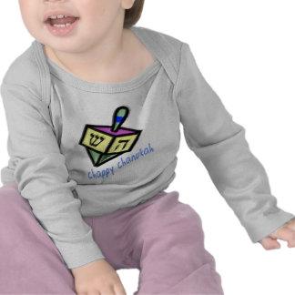 Chappy Chanukah 2-Sided Infant Longsleeve Tshirt