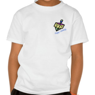 Chappy Chanukah 2-Sided Kids' Shirts