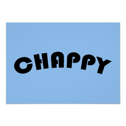 Chappy Poster