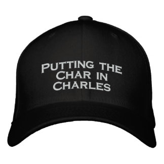 Char Embroidered Hat