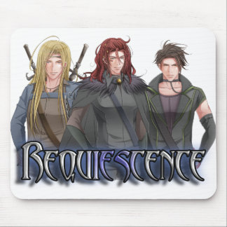 Character Banner Mouse Pad
