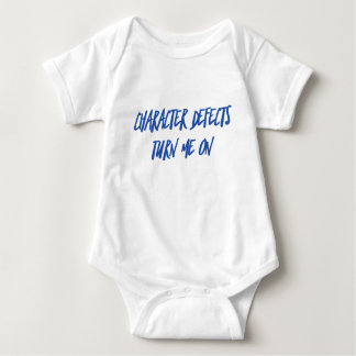 Character Defects Recovery Sober Drunk Baby Bodysuit