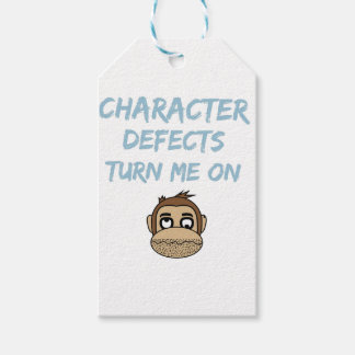 Character Defects Recovery Sober Drunk Gift Tags