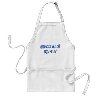 Character Defects Recovery Sober Drunk Standard Apron