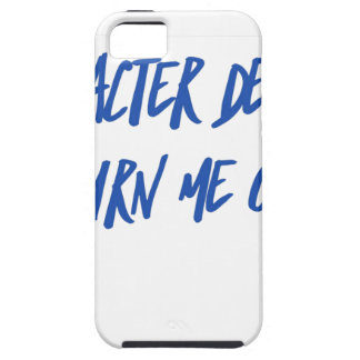 Character Defects Recovery Sober Drunk Tough iPhone 5 Case
