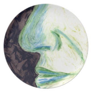 Character nose dinner plate