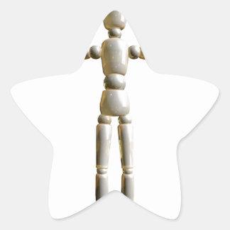 Character Star Sticker