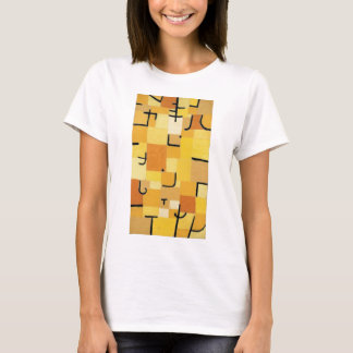 Characters in yellow - Paul Klee T-Shirt