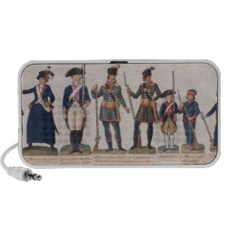 Characters of the French Revolution Mp3 Speaker