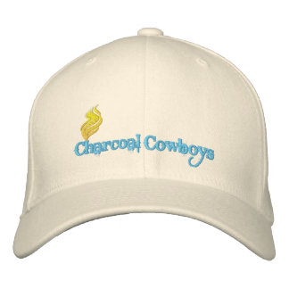 Charcoal Cowboys Hat Embroidered Baseball Caps