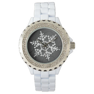Charcoal Crystal Snowflake Winter Watch