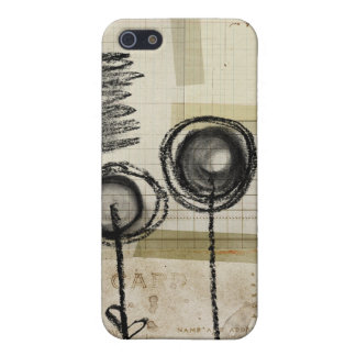 Charcoal doodle sketch pad ipod iPhone 5/5S cover
